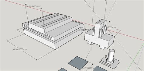 sketchup layout in mm creating kinect mount in sketchup and preparing for 3d
