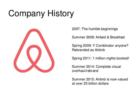 airbnb founder story airbnb company presentation