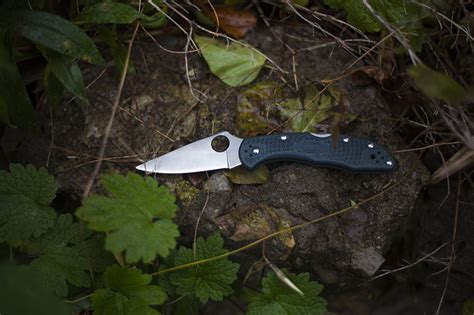 delica 4 ffg spyderco delica 4 ffg flat ground knife review