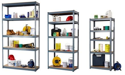 Garage Shelving Deals 5 Tier Garage Shelving Groupon Goods