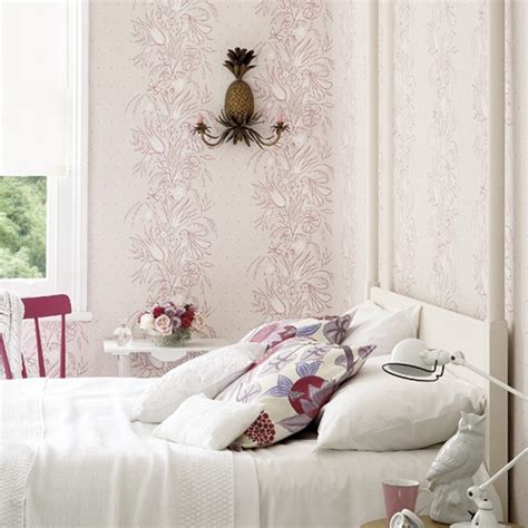 Interior Decorating Ideas For Home Chic And Charming Pink Bedrooms