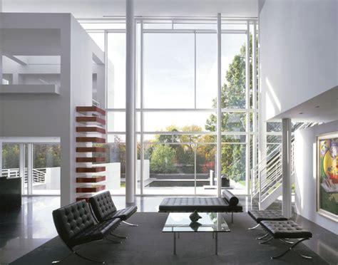 Two Car Garage Designs rachofsky house richard meier amp partners architects