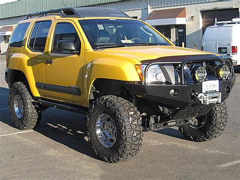nissan xterra lifted off road nissan xterra lifted image 14