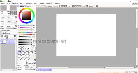 paint tool sai linux tereza costa software para desenho e pintura digital