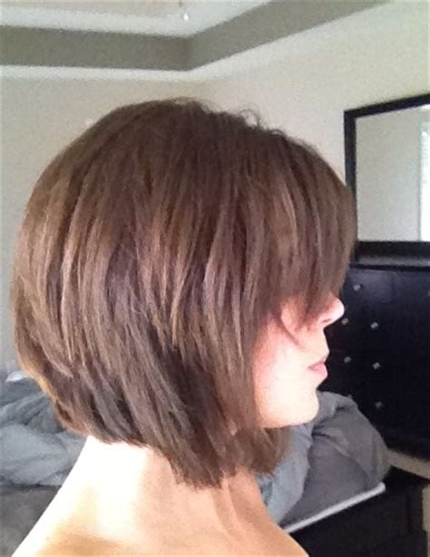 Hairstyles When Growing Out Inverted Bob | inverted bob pictures show front and back view