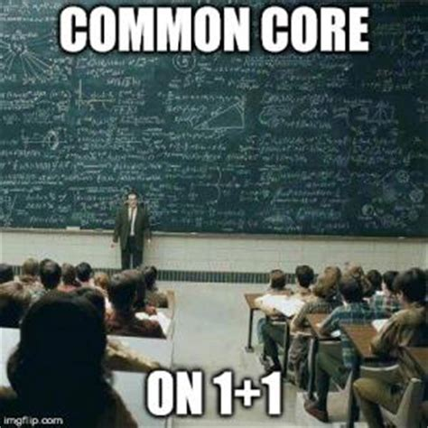 Common Core Math Meme - common core jokes kappit