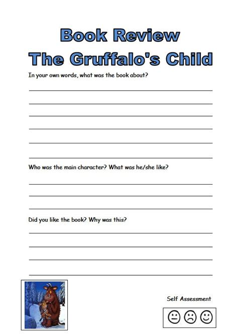 gruffalo writing paper gruffalo s child activity book a collection of resources