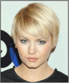 hairstyles for chin faces short hairstyles for fine thin hair and round face ideas