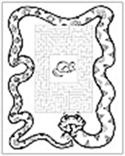 printable lizard maze rainforest crafts