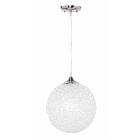 acrylic pendant light brilliant 60w amelie 300mm acrylic pendant light
