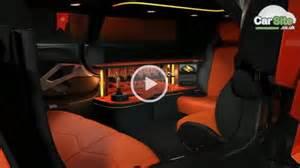 Uk company designs world s first lamborghini aventador limousine
