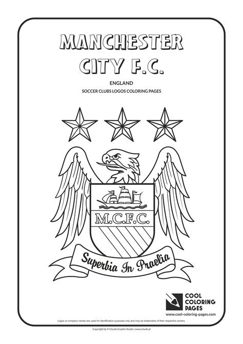 Soccer Clubs Logos Cool Coloring Pages Cool Shirt Coloring Pages