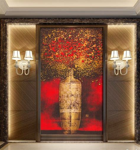 abstract art home decor aliexpress com buy continental abstract entrancechinese