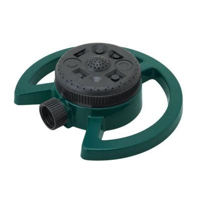 melnor 8 pattern turret sprinkler 269 the home depot
