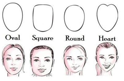 diffrent kinds of hair for diffrent shaped faces how to choose glasses to suit your face shape by julian