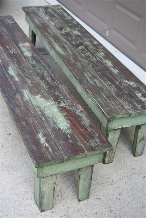 how to paint a wooden bench best 25 painted benches ideas on pinterest picnic table