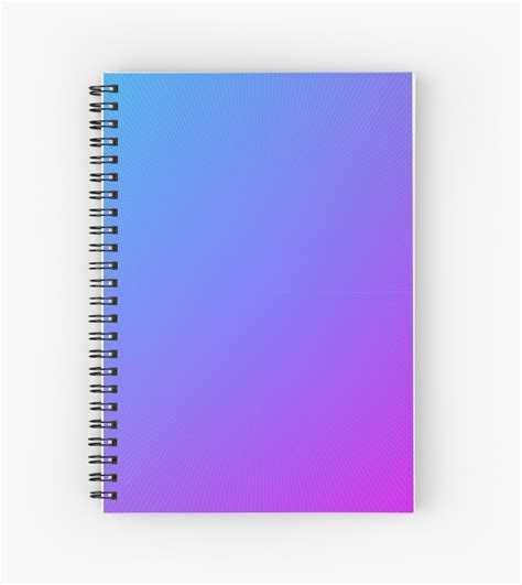 awesome ideas lined notebook journal 7x10large 120 pages books quot jkl cool blue purple gradient quot spiral notebooks by