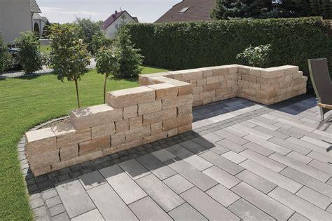 Mauer Garten by Toskana Mauer Rinn Betonsteine Und Natursteine Garten Bauen