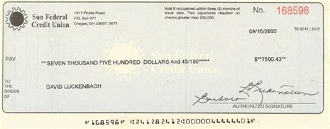 Forum Credit Union Routing Number Counterfeit Checks