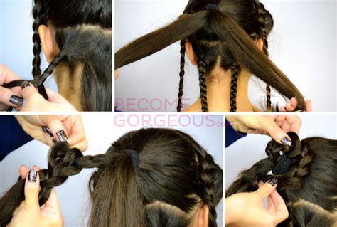 hairstyles wedding games katniss everdeen wedding updo tutorial video