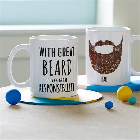 great coffee mugs personalised great beard mug by oakdene designs