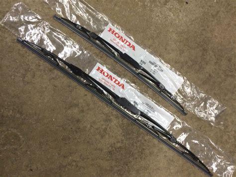wiper blades for 2005 honda accord genuine oem honda accord front windshield wiper blades