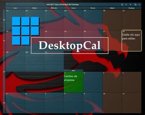 calendario para escritorio windows 7 desktop calendar v2 2 23 4220 calendario configurable