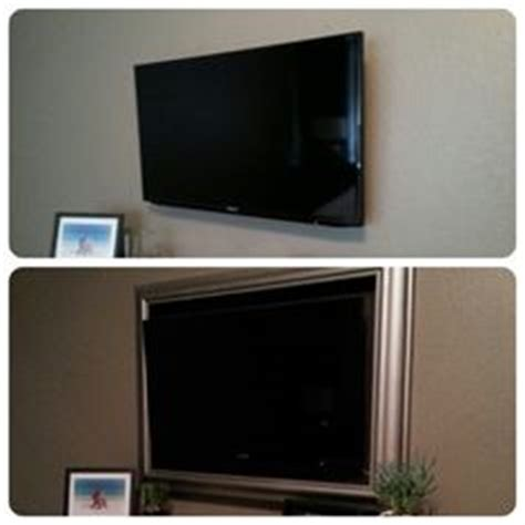 bed frame with tv inside 1000 images about framed tv on flat screen