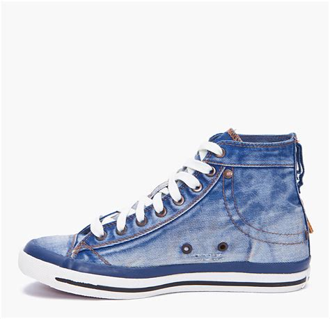 Sneakers Denim diesel expoiak denim sneakers