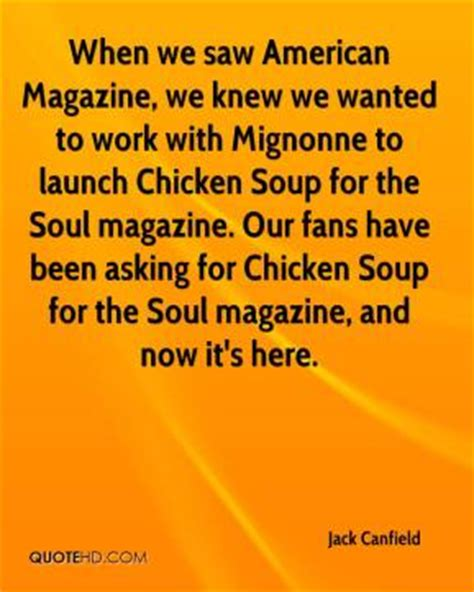 Chicken Soup For The Soul At Work american magazine quotes page 1 quotehd
