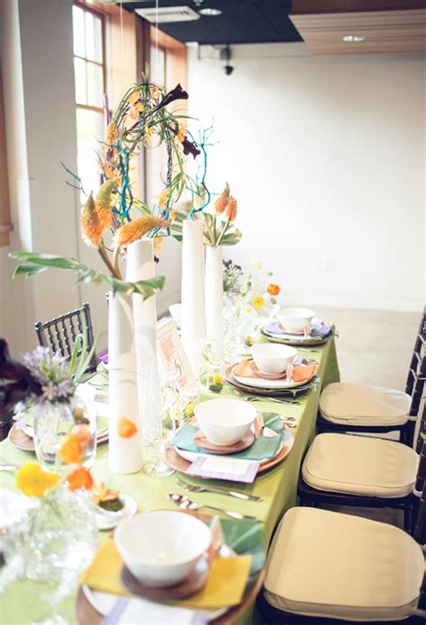 60s decor picture of 60s wedding decor inspiration