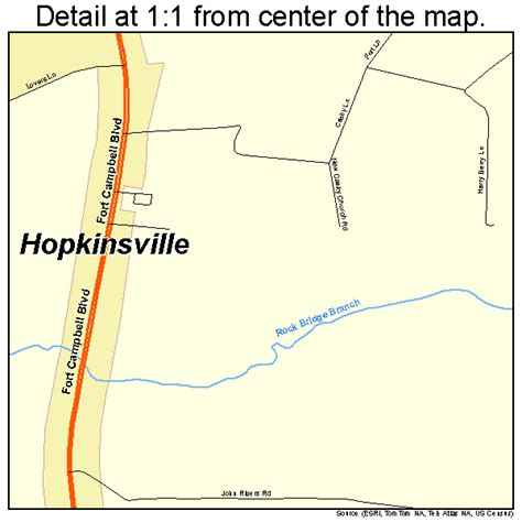 kentucky map hopkinsville hopkinsville kentucky map 2137918