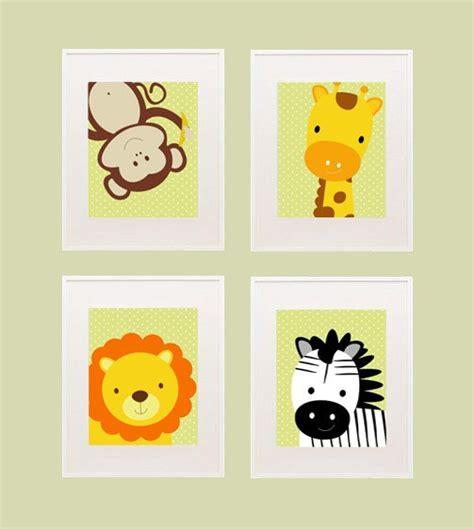 printable wall art etsy safari printable nursery wall decor by kutzypartyboutique