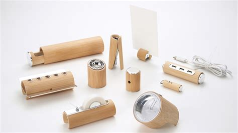 bamboo desk accessories minimalist bamboo desk set the wood makes it