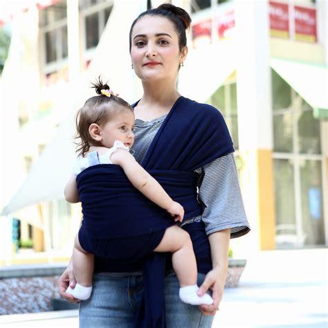 Gendongan Bayi Jakarta tas gendongan bayi baby wrap sling carrier black