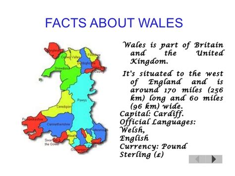 facts about facts about wales