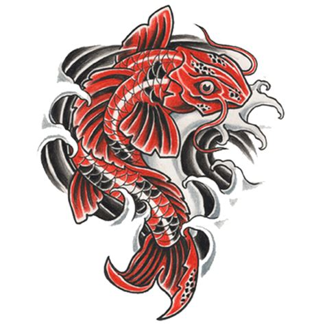 lion tattoo transparent png stickpng fish japanese transparent png stickpng