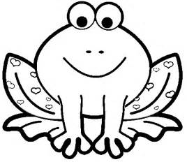Animal Coloring Pages For Children frog animal coloring pages for