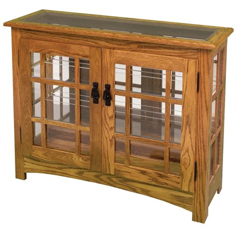 are curio cabinets out of style mission small console curio cabinet from dutchcrafters