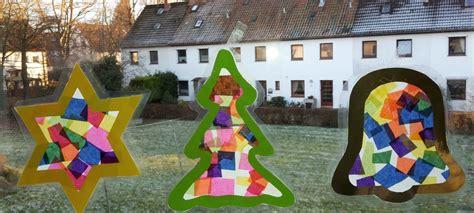fensterbilder weihnachten kinder weihnachten fensterbilder aus transparentpapier