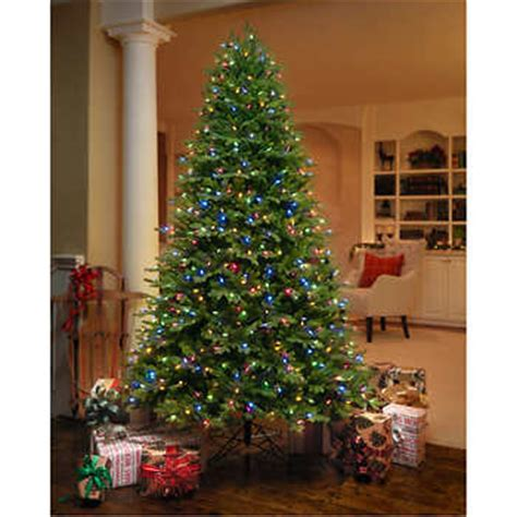 ge 7 5 ft artificial aspen fir pre lit led easy light