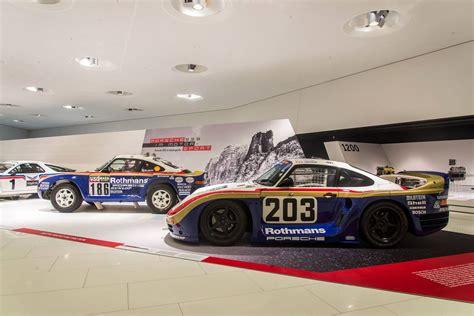 porsche 959 rally car 30 years of porsche 959 exhibition at porsche museum
