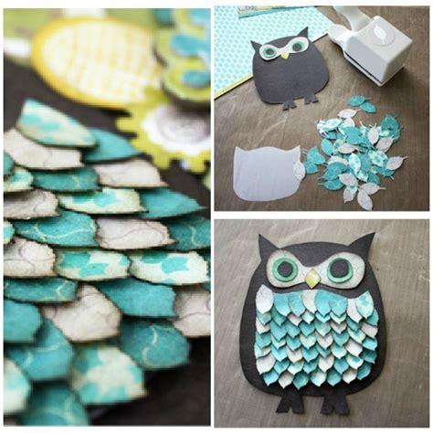 Diy Paper Craft - diy owl paper craft 7 diy owl crafts to make diy