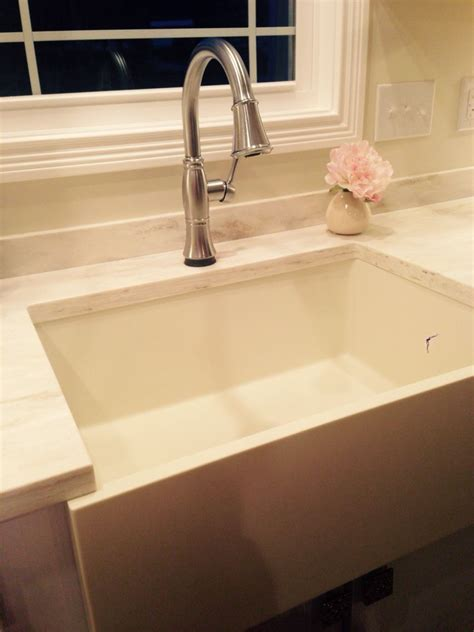 corian sinks and countertops corian apron sink 690 surfaces apron sink