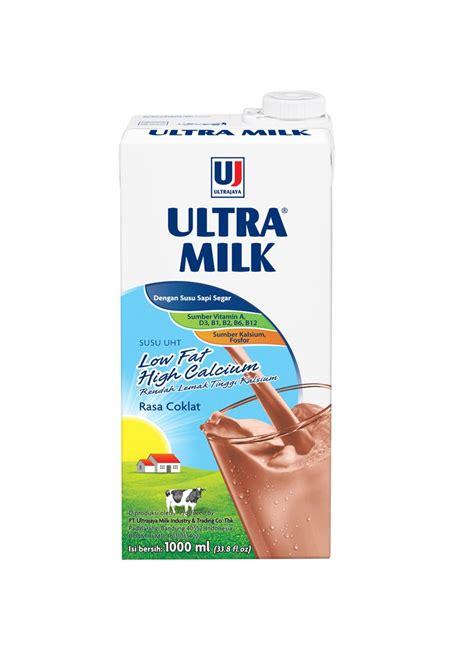 Ultra Coklat 1000 Ml by Ultra Cair Low Hi Calcium Coklat Tpk 1000ml
