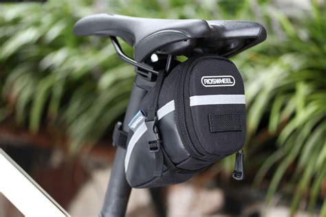 Tas Untuk Naik Sepeda roswheel tas sadel sepeda ekor yang menghubungi ke velcro