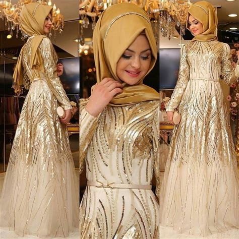 12  Model Dress Brokat Muslim Modern dan Cantik   Elegantria