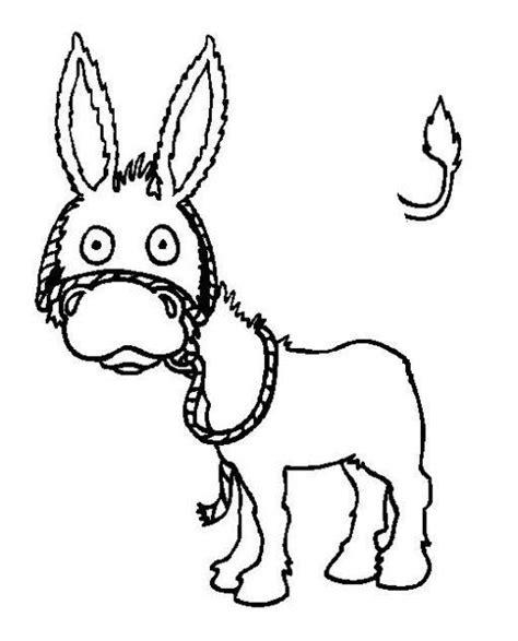imagenes para colorear burro cola de burro para colorear imagui