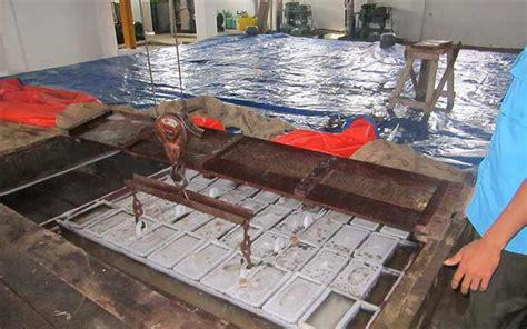 layout pabrik es balok ulasan lengkap perbedaan es batu air matang dan air mentah
