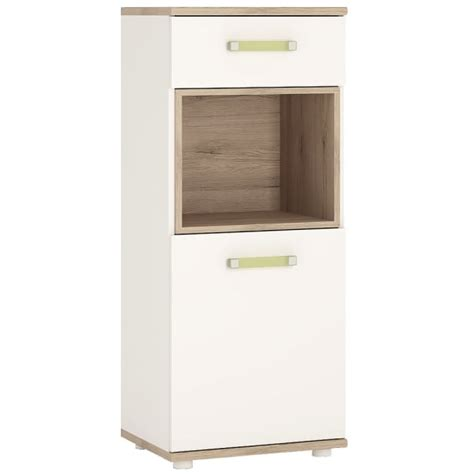 Cabinet Doors To Go Furniture To Go 4kids One Door One Drawer Narrow Cabinet Furniture To Go From Emporium Home